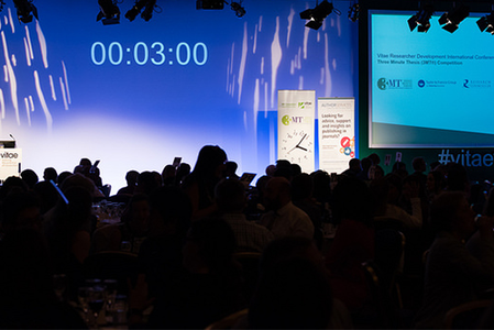 Vitae Three Minute Thesis ® competition