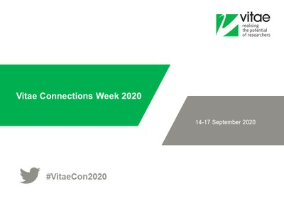 Vitae Connections Week - On demand and recorded content, Vitae Zone and Annual programme