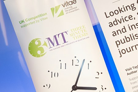 Vitae Three Minute Thesis® competition 2018