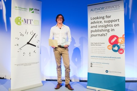 3MT® 2017 competition winner