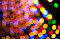 Shows an array of lights