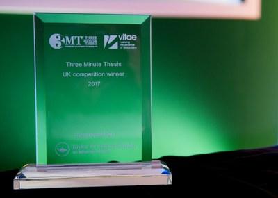 3MT 2017 award