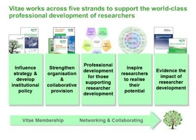 Five strands of vitae membership