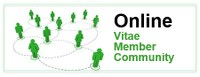 All Vitae members have access to our online community