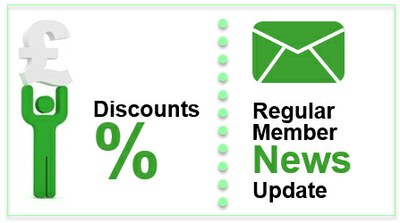 Member news and discounts
