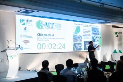 Chioma Paul, Brunel University. Vitae 3MT finalist 2015