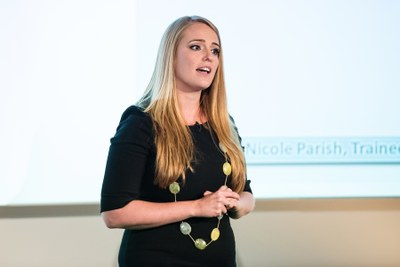 Nicole Parish, Plymouth University. Vitae 3MT finalist 2015