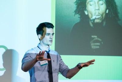 James Reynolds, Sheffield Hallam University. Vitae 3MT finalist 2015