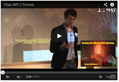 3MT finalist video screengrab