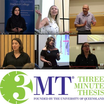 UK 3MT finalists 2016