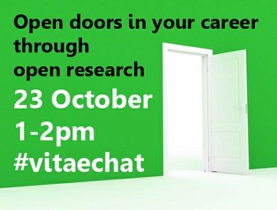 #vitaechat Open doors in your career