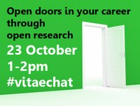 Twitter chat banner #vitaechat