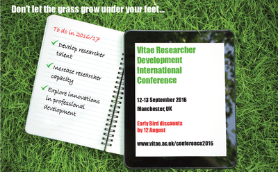 Don't let the grass grow under your feet...
