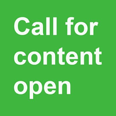 Call for content open