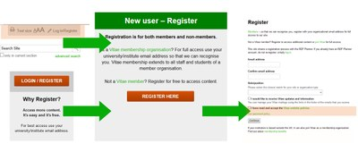 Here's how you register to our website
