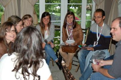 Events participants discuss