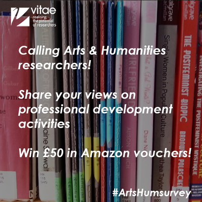 Survey for Arts and Humanities researchers