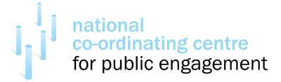 National Co-ordinationg Centre for Public Engagement NCCPE logo