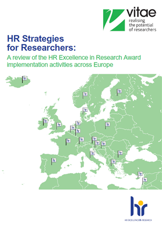 HR Strategies for Researchers: A review of the HR Excellence in Research Award implementation activities across Europe cover