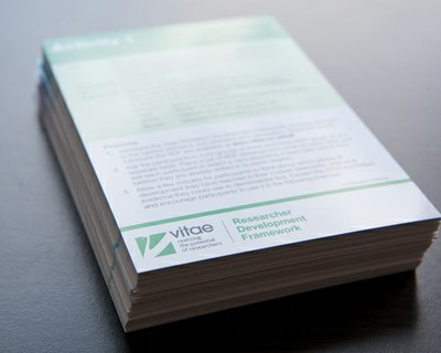 RDF Cards pile