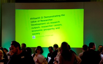 Vitae professional development  for researchers