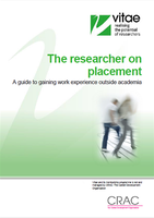 The researcher on placement cover image