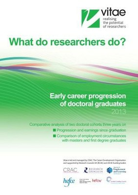 What do researchers do? cover