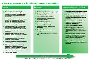 Vitae capacity building programme brochure