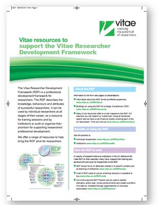 Press version: Resources on RDF