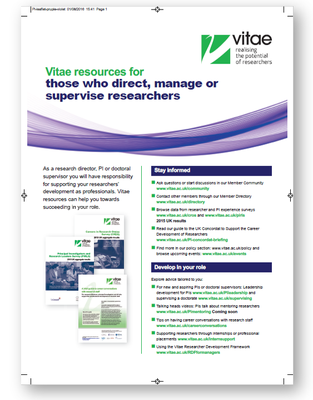 Press version: Resources for supervisors