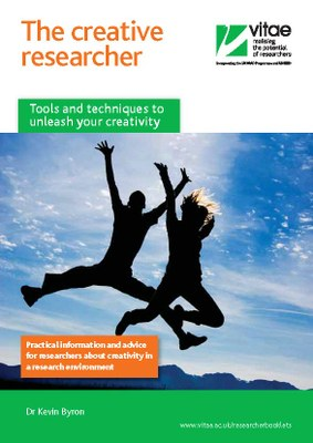 Creative researcher booklet