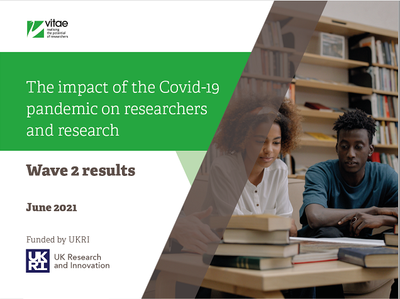 Impact of Covid-19 - wave 2 report cover