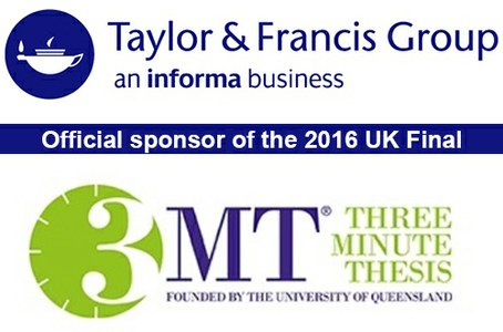 Three Minute Thesis 2016 UK Final