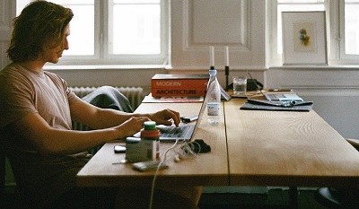 Man working from home 2