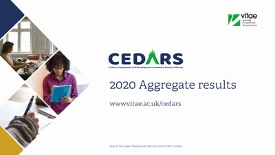 CEDARS 2020 aggregate results front cover