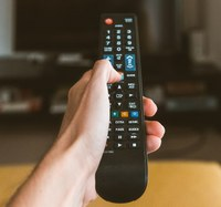 on demand image of a remote control