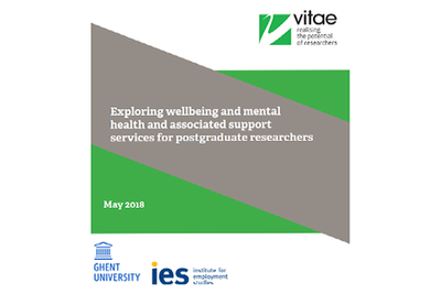 Wellbeing and mental health report cover