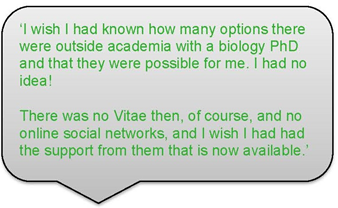 Anna Sharman career story quote