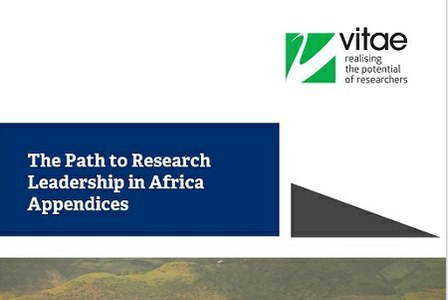 Appendices: The Path to Research Leadership in Africa