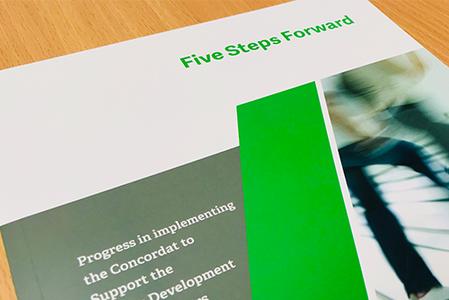 Five Steps Forward