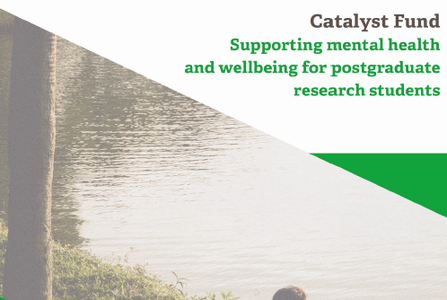 Read new Report: Catalyst Fund- Supporting mental health & wellbeing for postgraduate research students