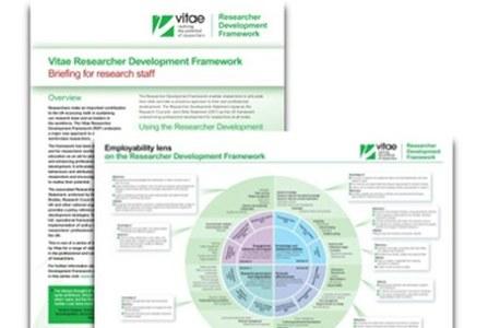 The Vitae Researcher Development Framework