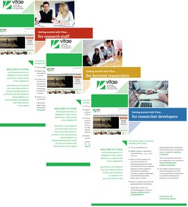 """Read our new """"Getting started with Vitae"""" leaflets"""