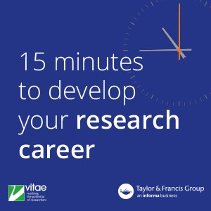 15 minutes to develop your research career
